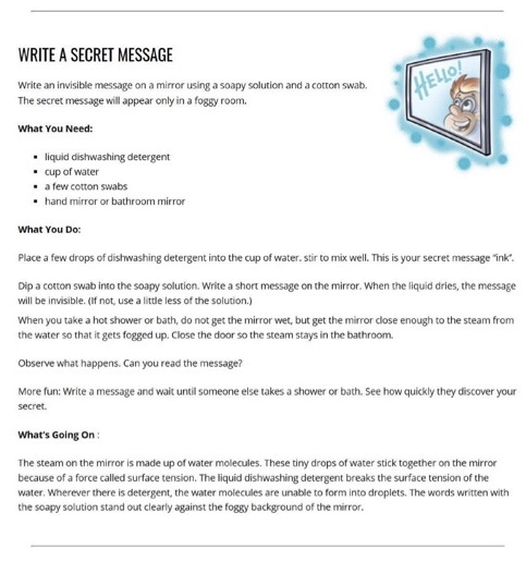 Secret Message Image