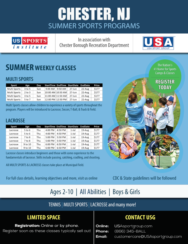 US Sports Chester Summer 2021