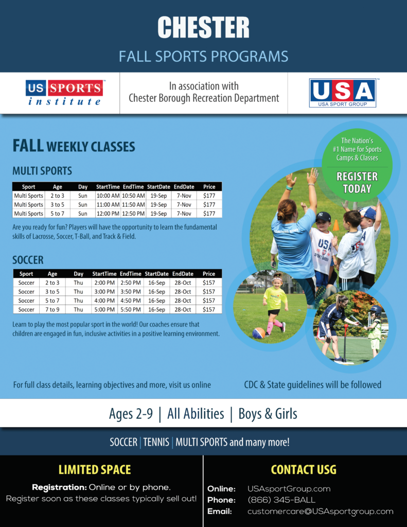 2021 Fall US Sports in Chester