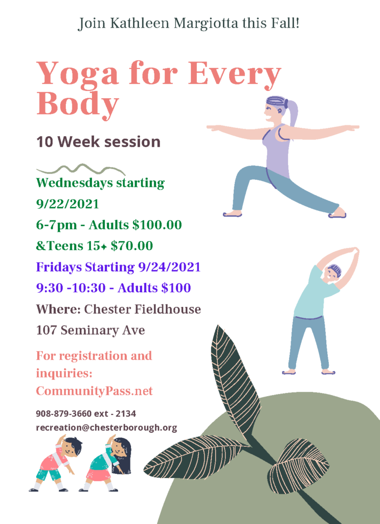 2021 Fall Yoga in Chester