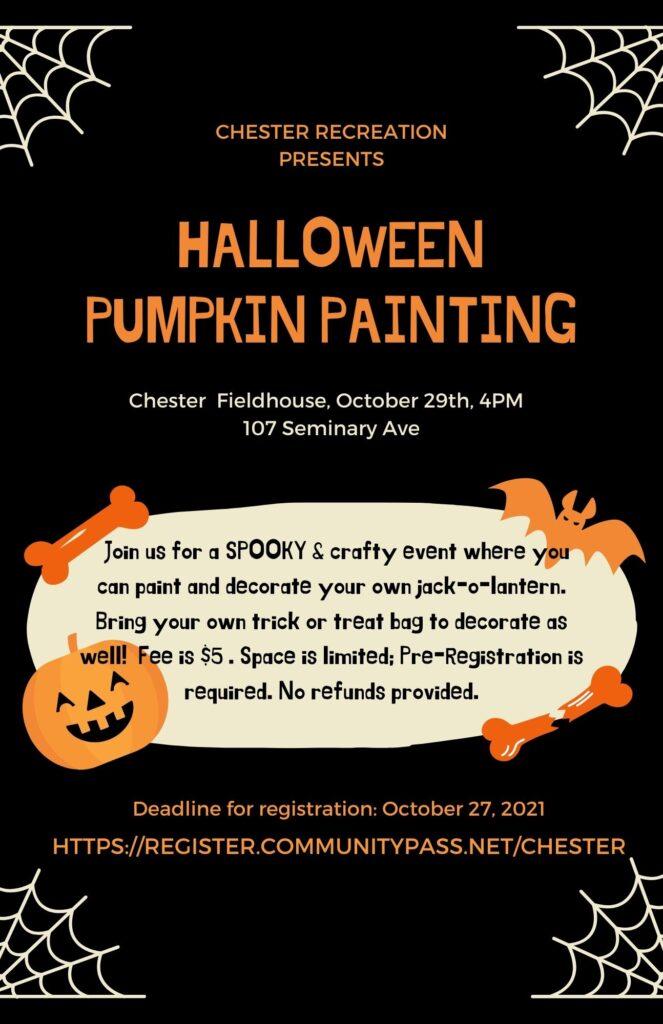 2021 Pumpkin Painting