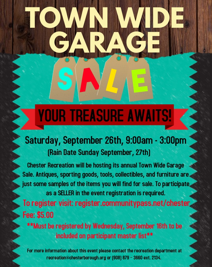 Town Wide Garage Sale